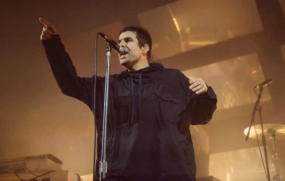 Liam Gallagher, live at Manchester Ritz Credit: Ben Bentley/NME