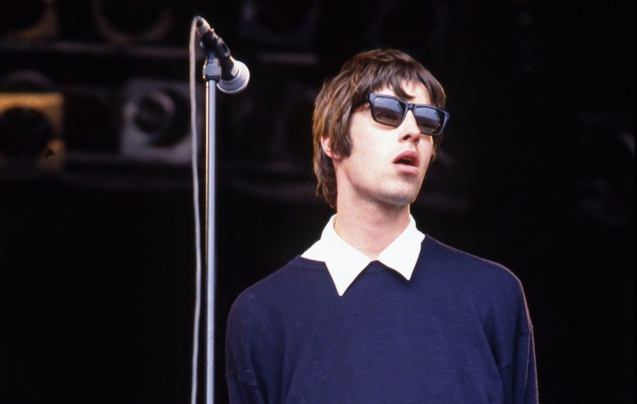 Liam Gallagher at Glastonbury 1994