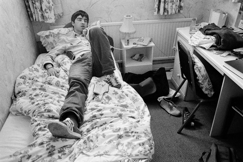 Noel Gallagher nel 1994, epoca in cui scrisse Talk Tonight