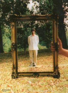 Liam Gallagher per la copertina di Wonderwall (Copyright Microdot).