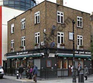 The Good Mixer Pub, Camden.
