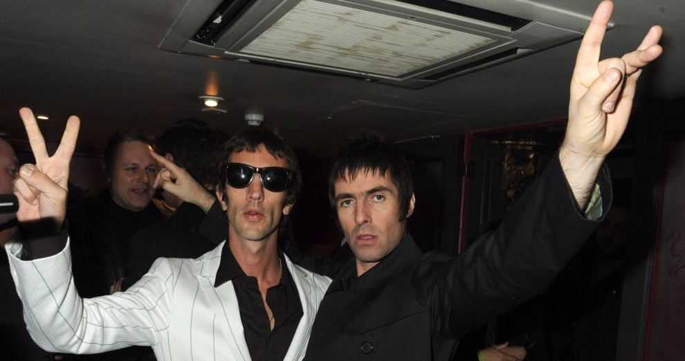 Liam Gallagher and Richard Ashcroft.