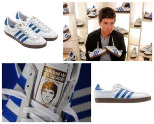 Noel Gallagher e le sue Adidas NG-72. Copyright feelnumb.com.