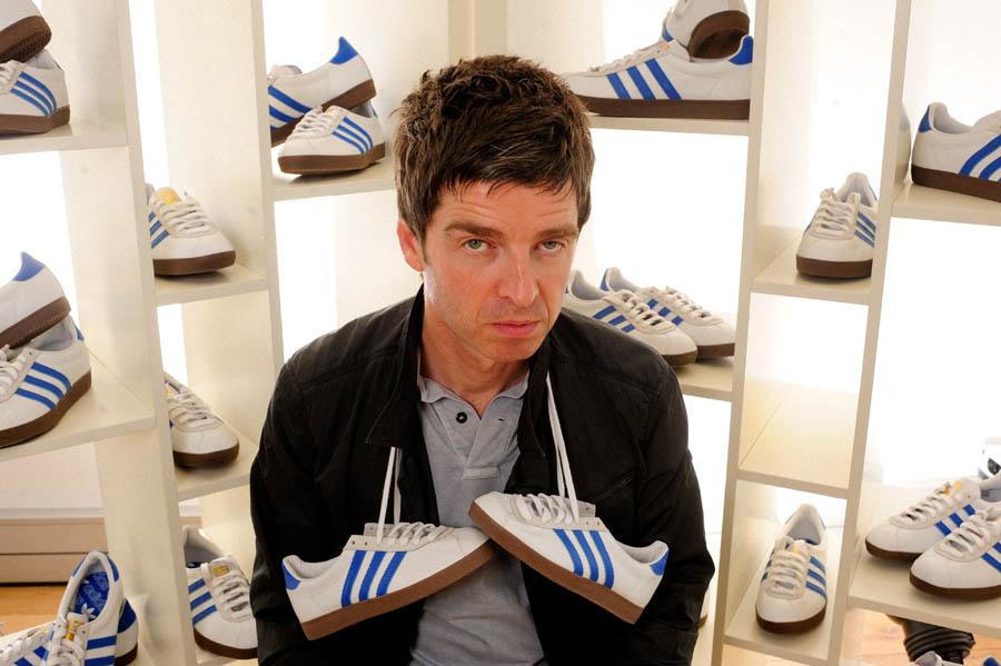 La passione di Noel Gallagher per l'Adidas.