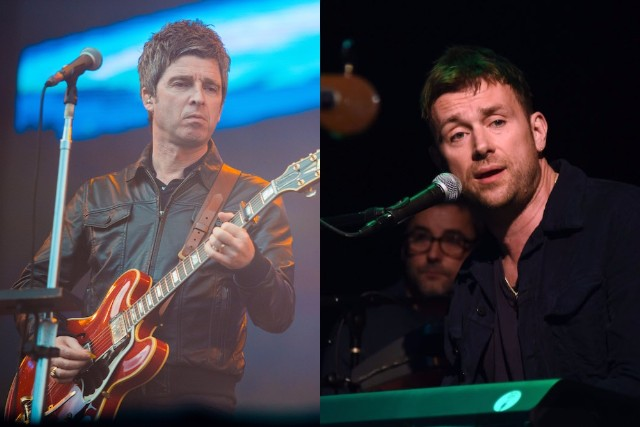 CREDIT: Albarn photo by Ilya S. Savenok/Getty Images; Gallagher photo by by Mauricio Santana/Getty Images