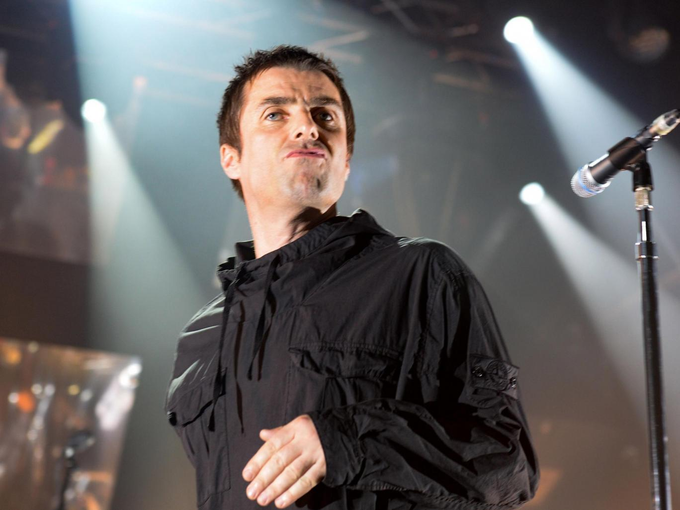 Liam Gallagher in concert at Electric Brixton, London, UK - 1 Jun 2017 PJP photos/REX/Shutterstock