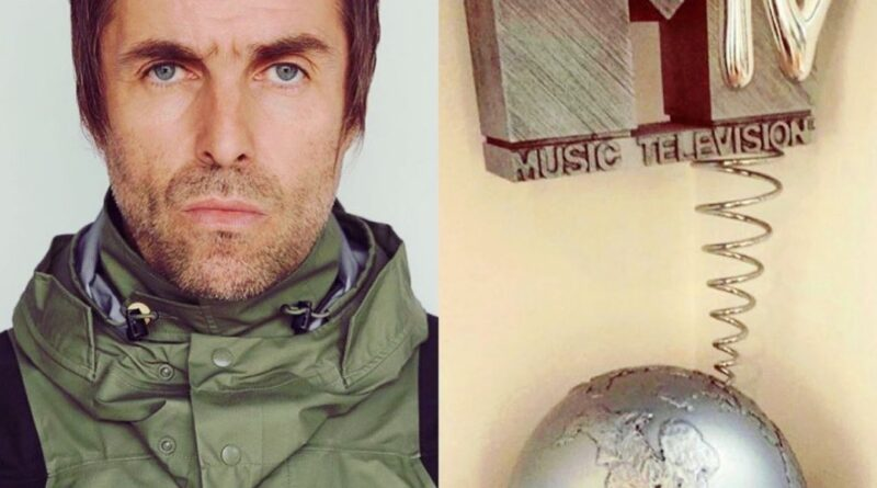 Liam Gallagher MTV Award